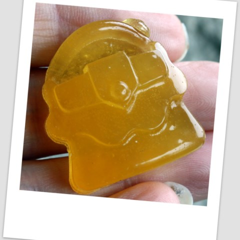 Organic Lemon Gummy Shapes