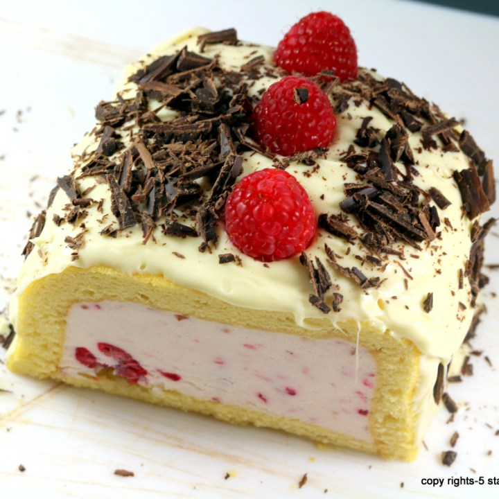 White Raspberry Dream Cake