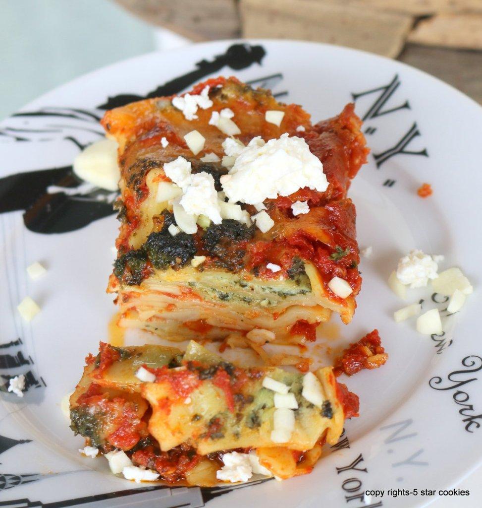 easy lazy lasagna
