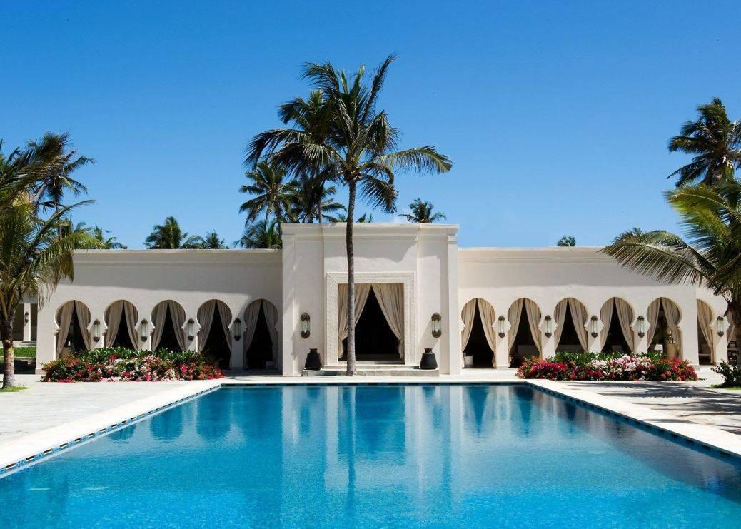 Cool and elegant under an African sun. Photo: Zanzibar Baraza Hotel