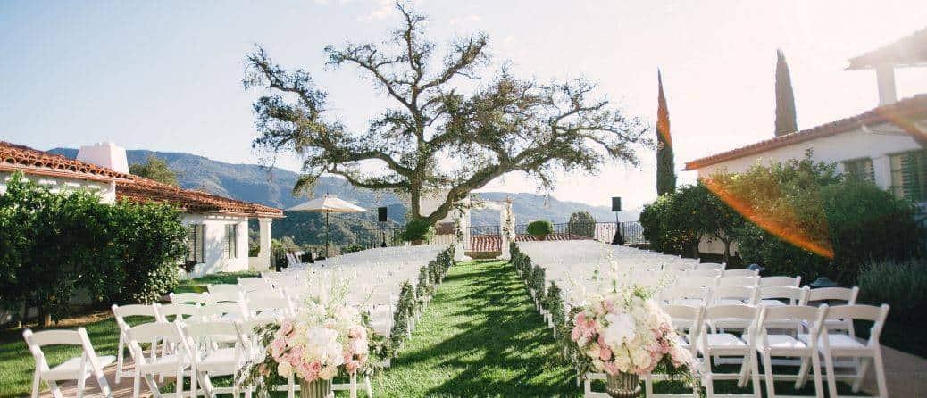 Stunning Californian scenery makes a beautiful backdrop. Photo: Ojai Valley Inn & Spa