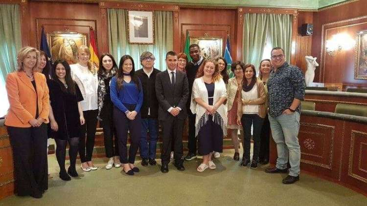 Press and Wedding Planners with The Major of Marbella