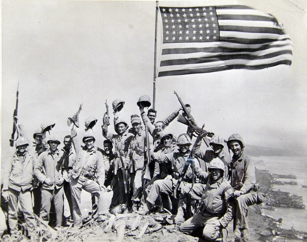 Image result for gung ho picture iwo jima