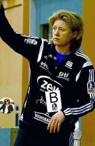 Daniela Filip coacht ab der kommenden Saison die Miezen. Foto: BSV Sachsen Zwickau