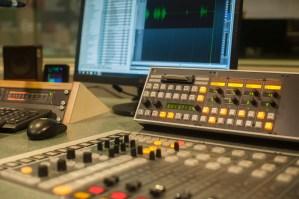 radio, console, studio