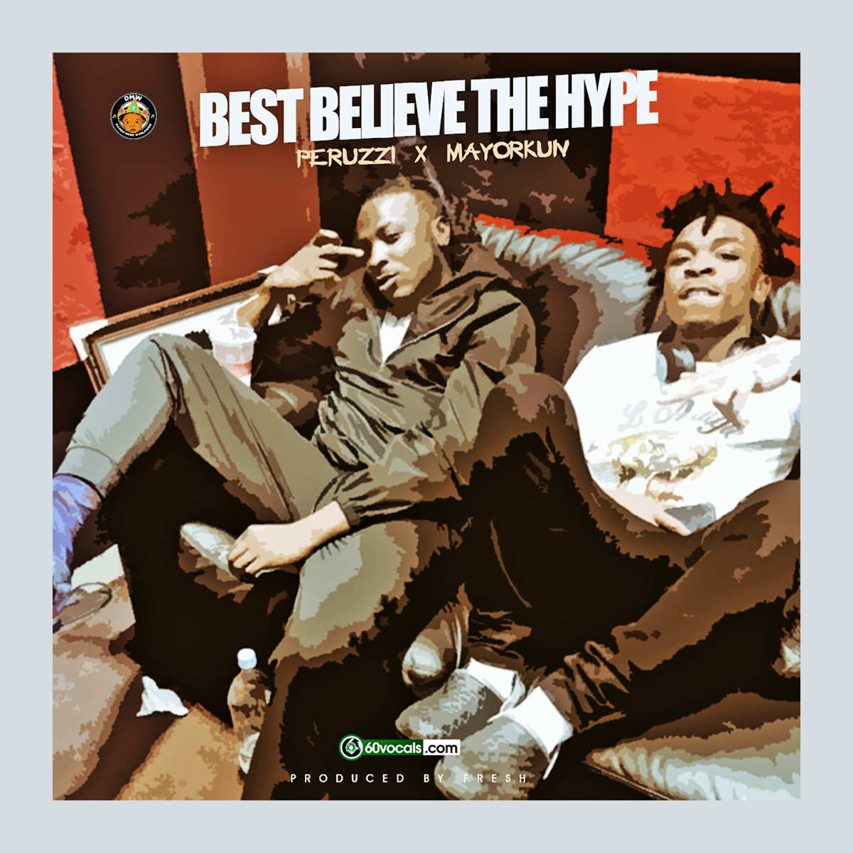 MUSIC: Peruzzi ft. Mayorkun - Best Believe The Hype