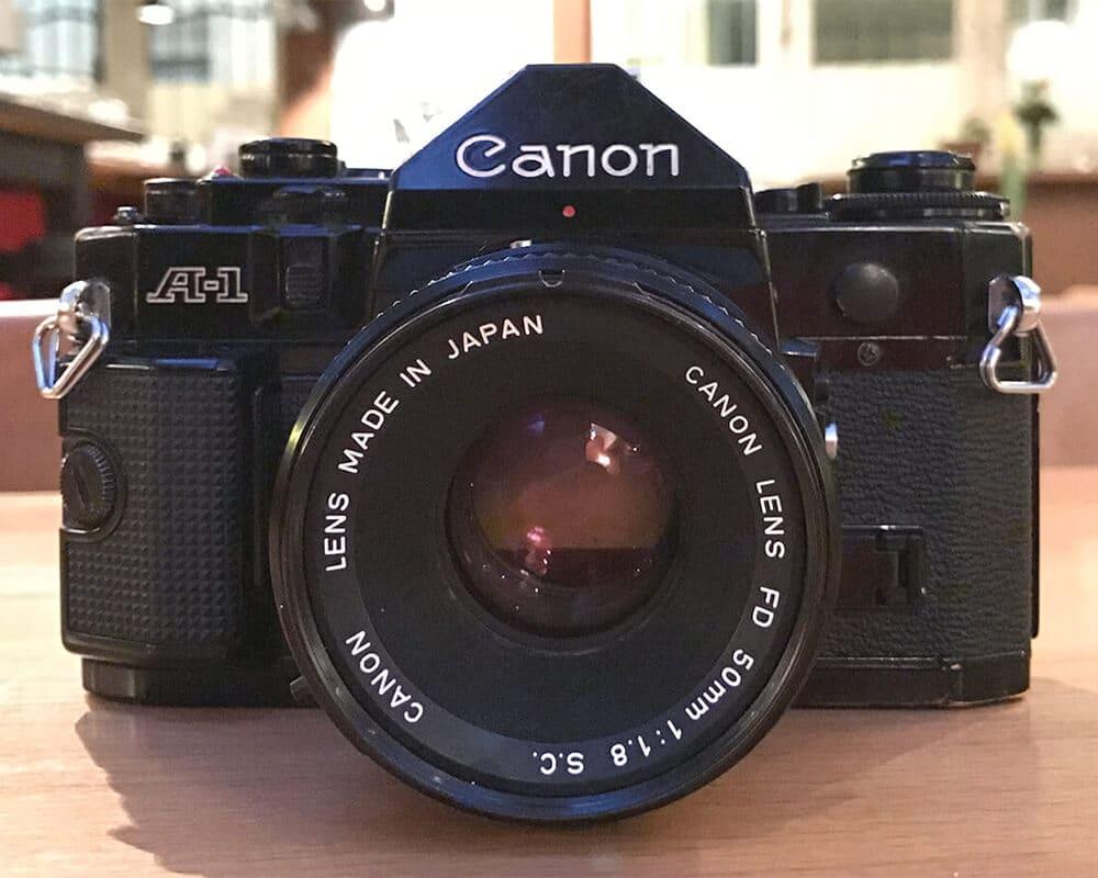 Kamera von vorne