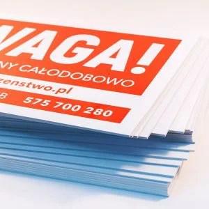tabliczki pcv poznan
