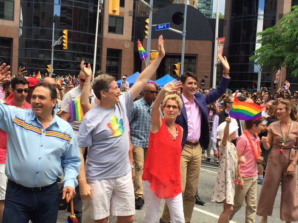 Image result for pride parade toronto Perry Bellegarde