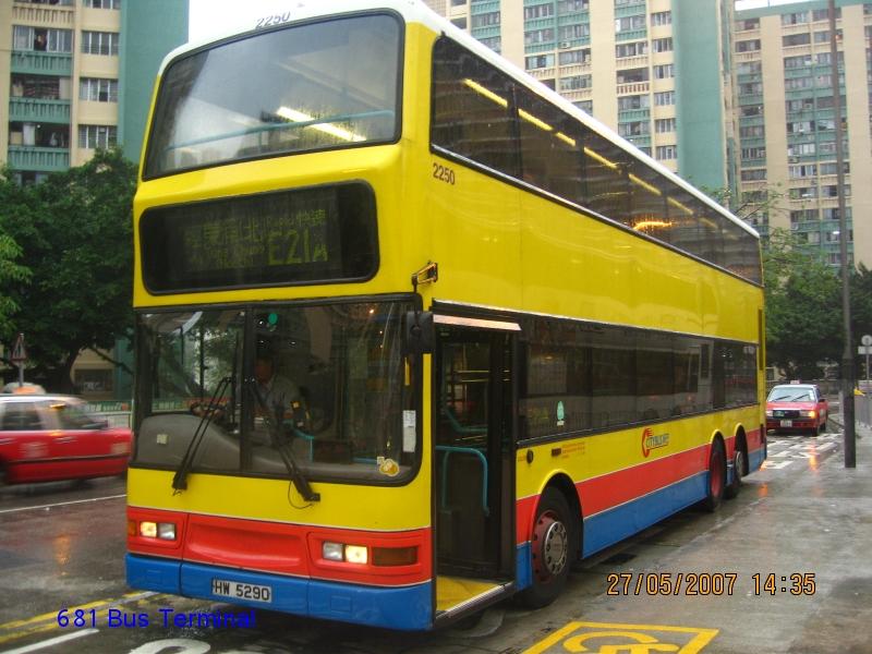 Citybus Route 城巴路線 - E21A