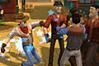 [酔っ払いどもをやっつけまくる保安官の格闘アクションゲーム]Saloon Brawl 2