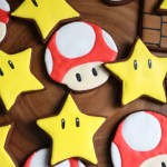 Mario Themed Sugar Cookies