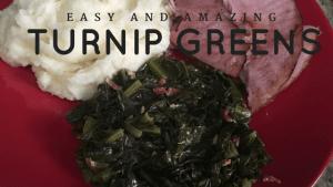 Easy Turnip Mustard Greens