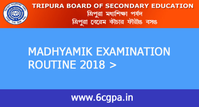 tbse-madhyamik-exam-2018