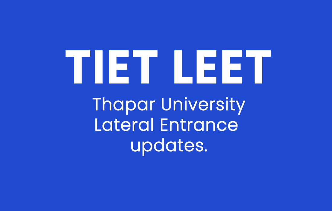 tiet-leet- thapar-university-lateral-entry