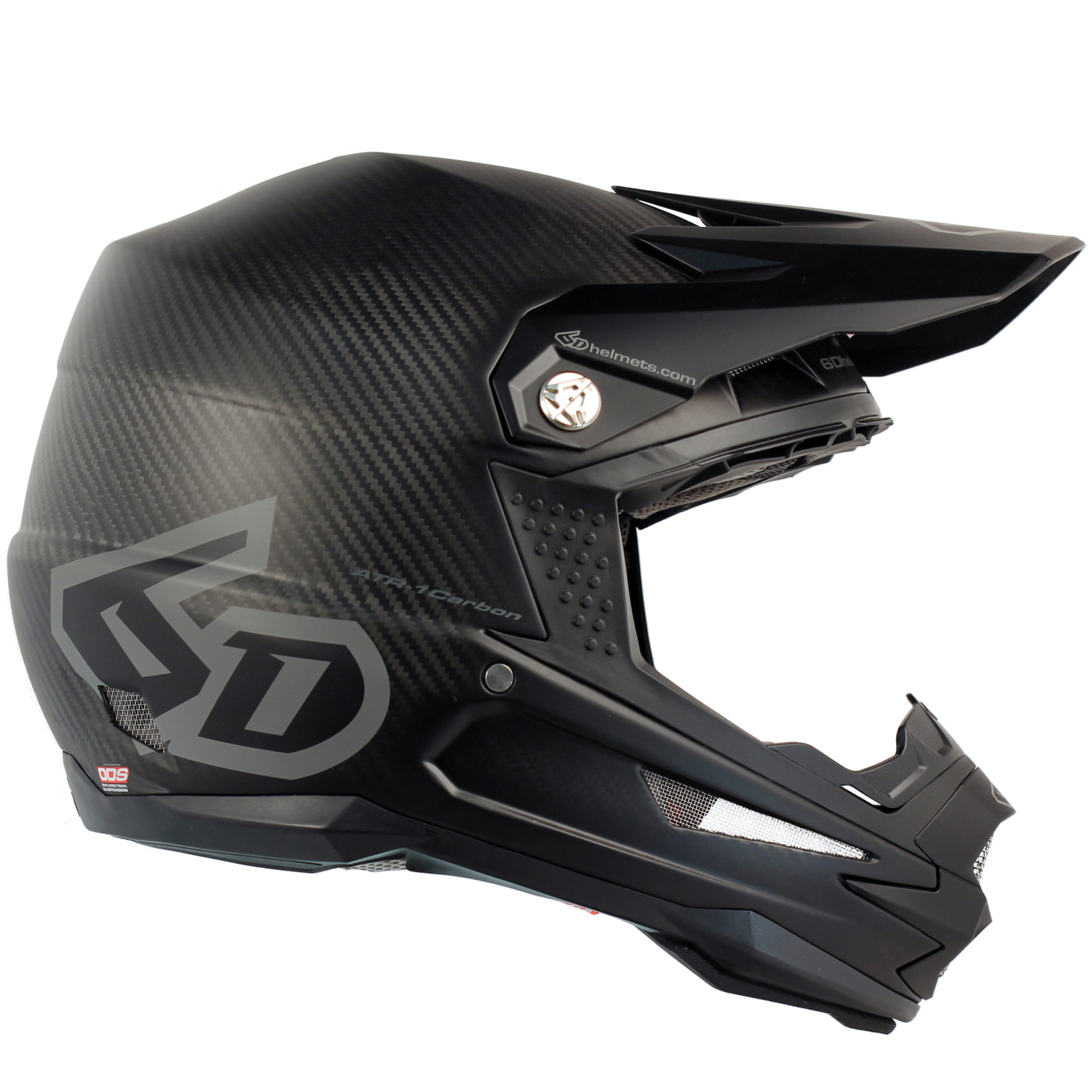 6D Helmets ATR-1 Carbon - Phantom Matte Black - XL
