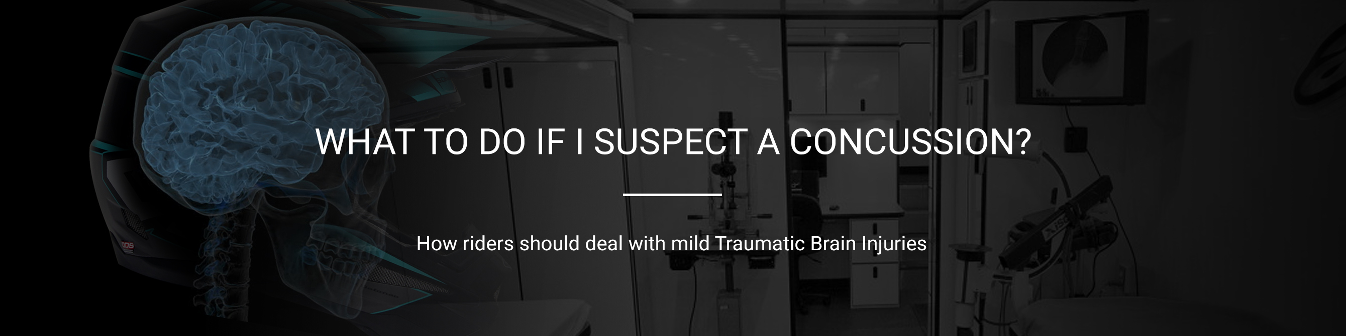 What to do if I suspect a concussion