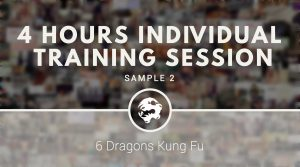 4 hours individual training session sample 2