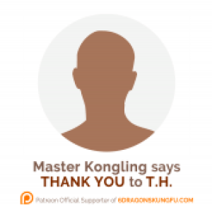 The 1st 6 Dragons Kung Fu's donor: thank you