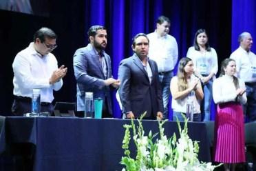 Agustín Dorantes presenta resultados de trabajo del CDE del PAN en Querétaro