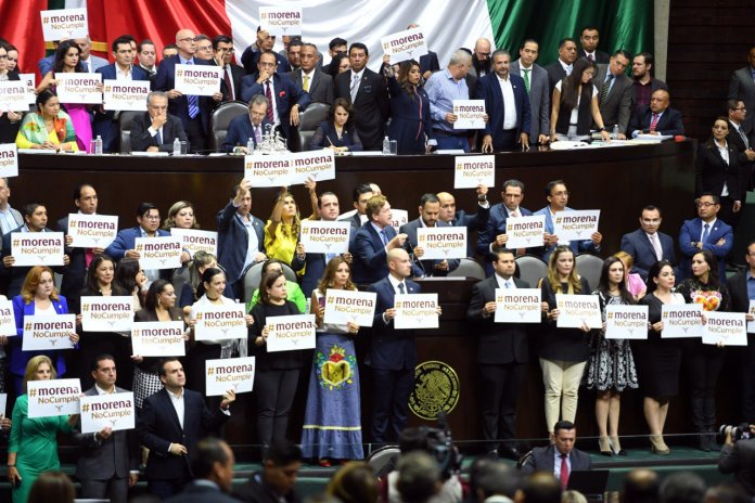 ¡Deplorable actitud de Morena en Cámara de Diputados!: Mauricio Kuri