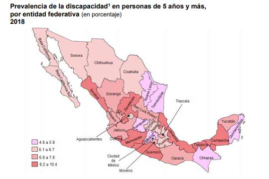 48% de las personas con discapacidad en México considera que sus derechos no se respetan