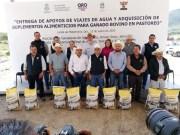 """""""Pancho sí cree y le apuesta al campo"""", coinciden ganaderos de Querétaro"""