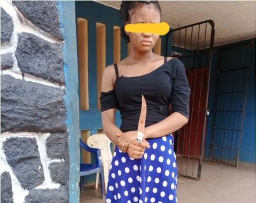 TOO BAD! Pregnant Girlfriend Allegedly Stabs Boyfriend To Death In Anambra
