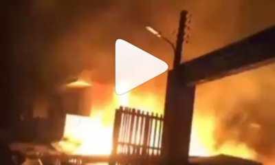 Fire guts INEC headquarters