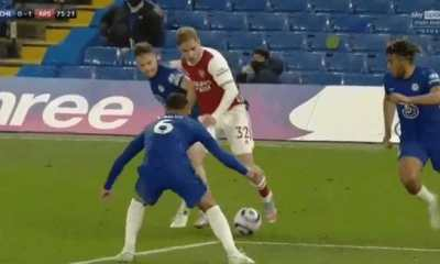 Watch Emile Smith-Rowe world class performances against Chelsea