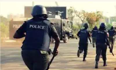 Unbelievable: See How Policeman Slaps Soldier In Aba