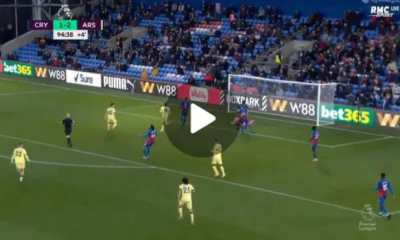 Watch Nicolas Pepe Performance and Dribbles Against Crystal Palace