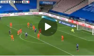 Unbelievable!: Watch Kylian Mbappe Scores Brilliant Goal Against Of Wales