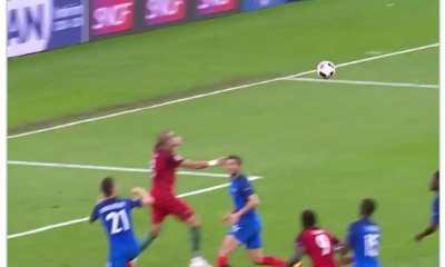Watch Throwback Pepe's incredible performance in Euro 2016 final Against France