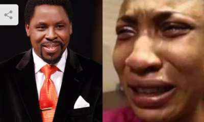 Heartbreaking: Watch How Tonto Dikeh Cried Over The Death of Prophet TB Joshua