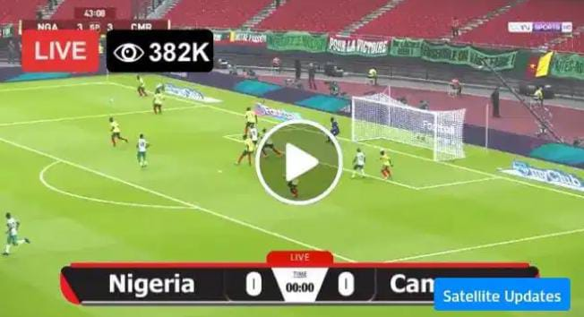Watch Cameroon vs Nigeria Live Match and Goal Highlights