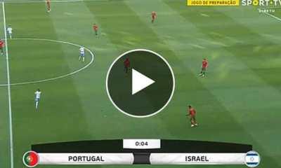 Watch Portugal vs Israel