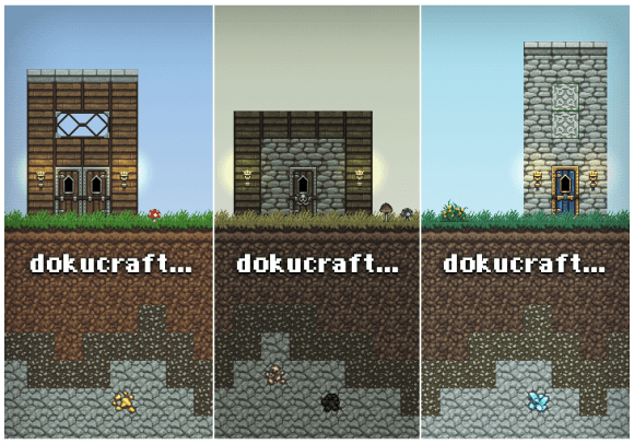 Dokucraft Texture Pack for Minecraft