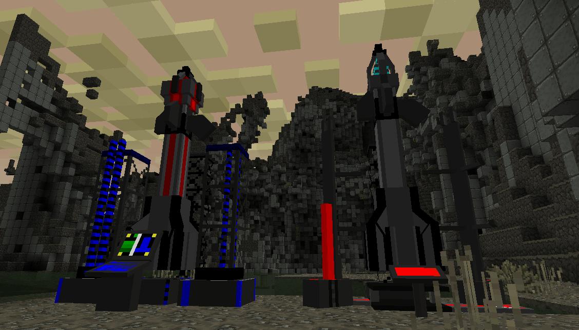 ICBM Mod for Minecraft