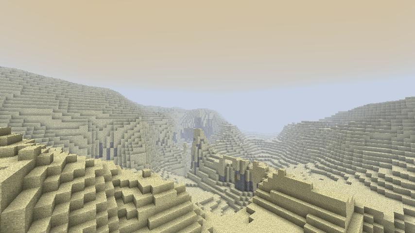 Minecraft wasteland biome