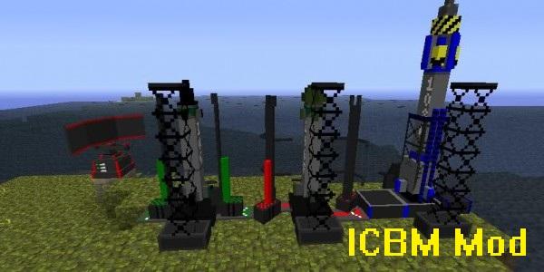 ICBM Mod for Minecraft 1.16.5