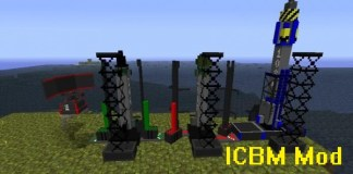 ICBM Mod for Minecraft 1.12.2/1.11.2