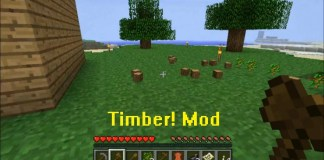 Timber Mod for Minecraft 1.12/1.11.2