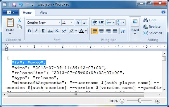 Minecraft JSON ID rename