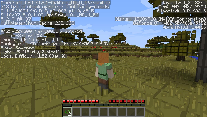 minecraft 1.13 pre release optifine