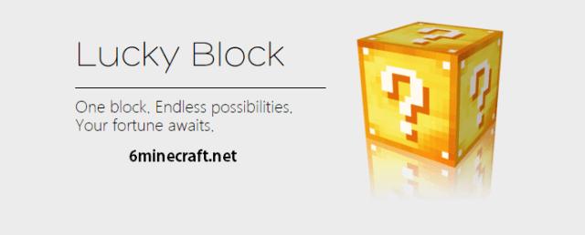 Lucky Block Mod 1.9.4