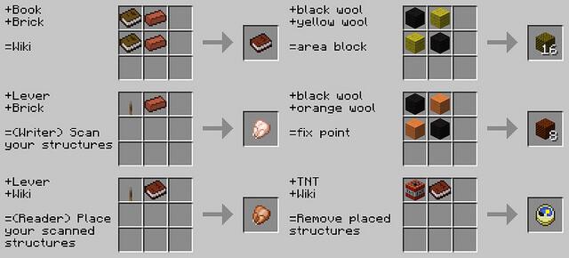 Instant Structures Minecraft 1.12.2/1.11.2