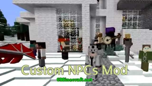 Custom NPC Mod 1 14 4/1 13 2/1 12 2/1 11 2/1 10 2 - 6Minecraft