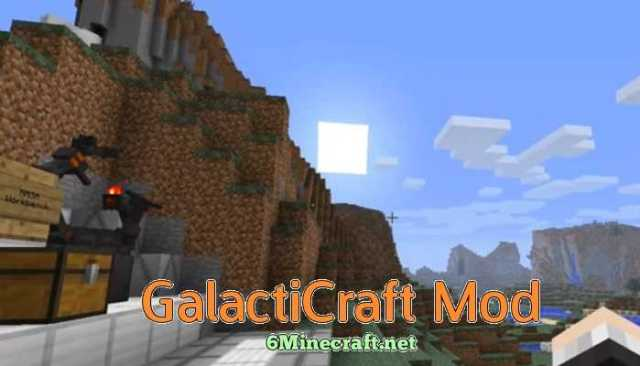 Galacticraft Mod 1 14 4/1 13 2/1 12 2/1 11 2 - Minecraft Space