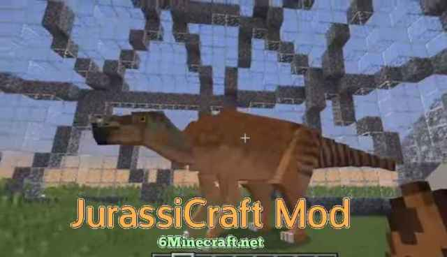 JurassiCraft Mod 1.9.4